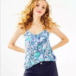 New Lilly Pulitzer Karmen Cami Top